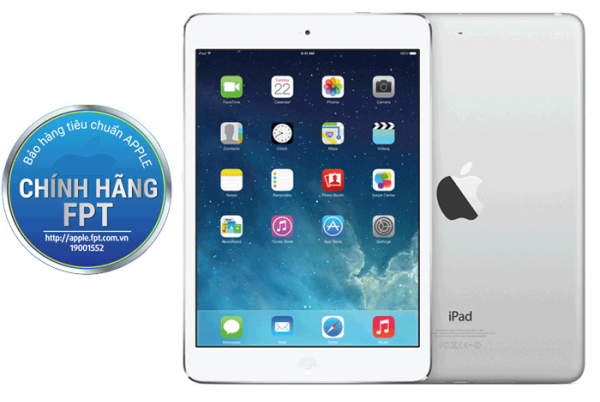 APPLE IPAD MINI RETINA WIFI 16GB (/ SILVER/ TRẮNG) ME279
