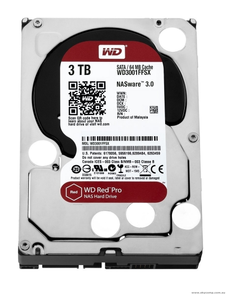 WD RED PRO 3TB/3.5
