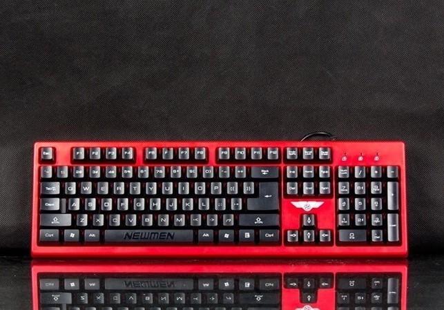 Newmen GM19 USB Gaming Red/Black