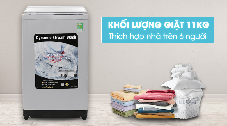 Máy giặt Hitachi SF-110XAV(WH)