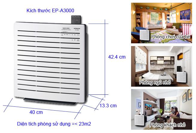 Máy lọc không khí Hitachi Ep - A3000